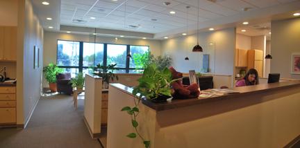Photo of Women's Healthwise Reception Desk