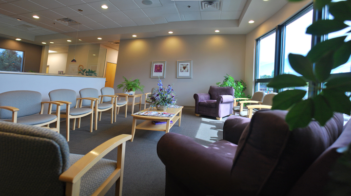 Photo of waiting room at Women's Health Wise OBGYN in Longmont CO
