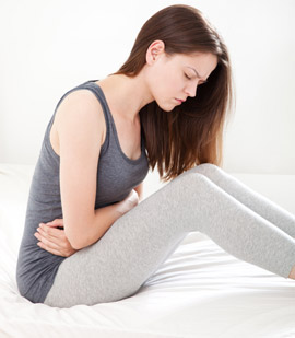 Photo of woman with pelvic pain