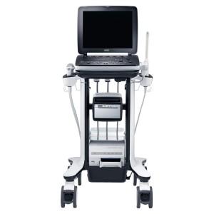 image of Samsung Ultrasound machine on cart